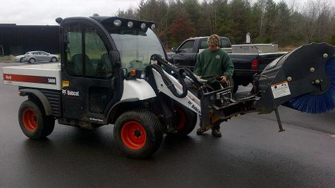 Landscaping Sweeping Clean Ups CT